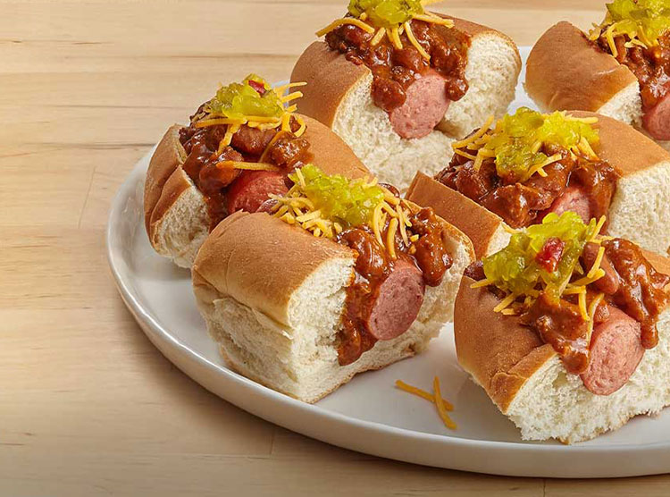 Chili Dog Sliders