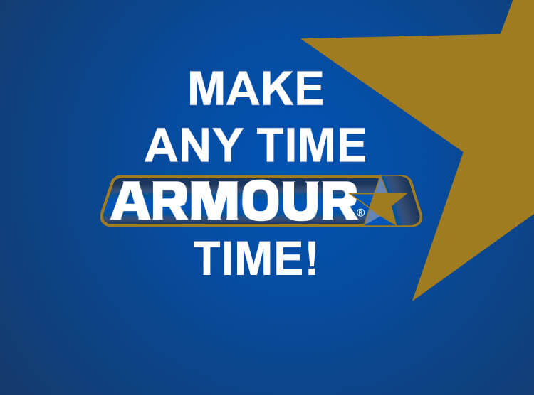 Make Any time Armour Time
