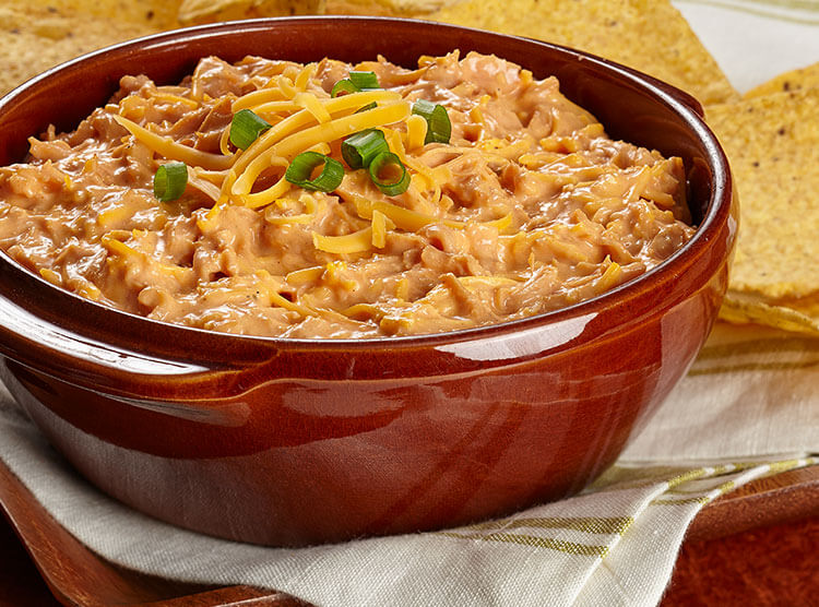 Buffalo Chicken Chili Bean Dip