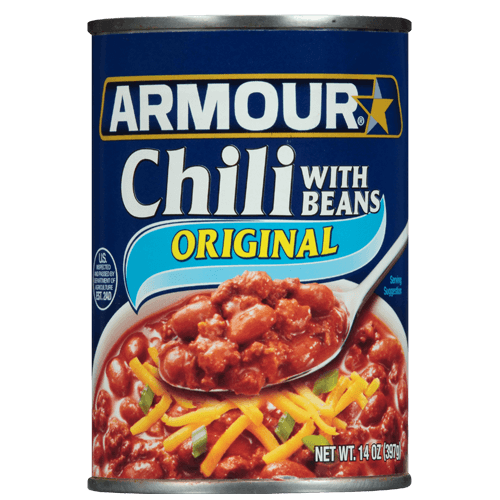 Armour Star Chili Original with Beans
