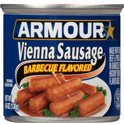 Armour Star Vienna Sausage Barbecue Flavored