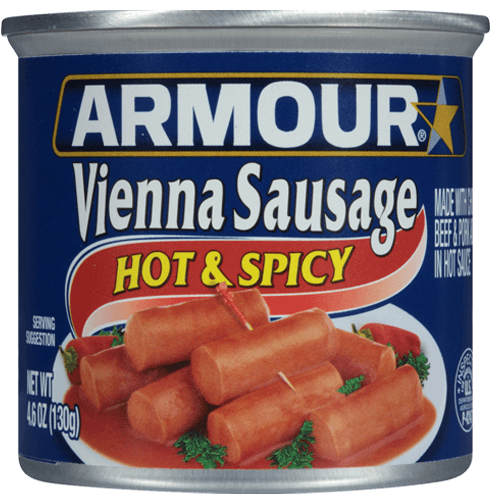 Armour Star Vienna Sausage Hot & Spicy